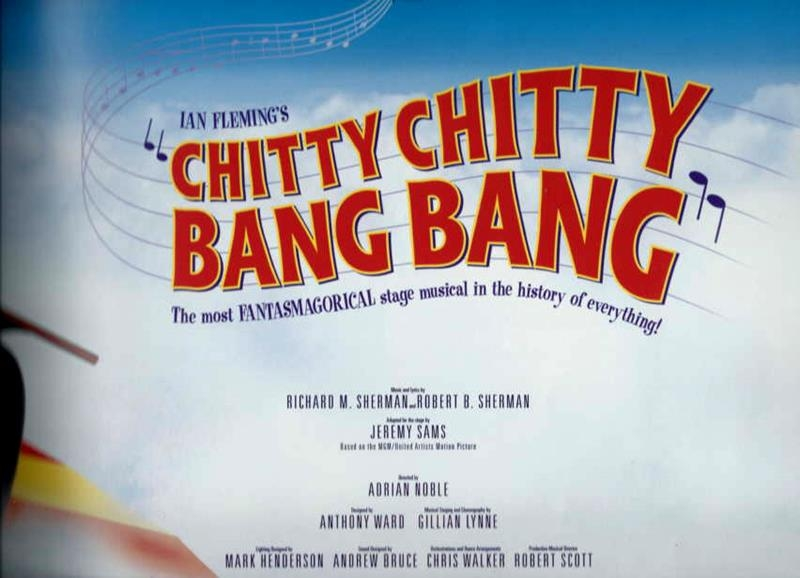 review of musical chitty chitty bang bang Arts editor kay kipling reviews this musical based on an ian  when you go to  see a musical about a flying car—ie, chitty chitty bang bang,.