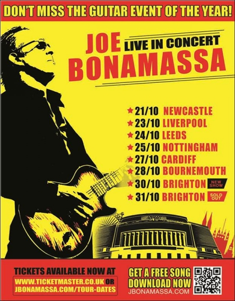 gig review joe bonamassa welcome to uk music reviews. Black Bedroom Furniture Sets. Home Design Ideas