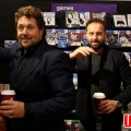 Michael Ball (MB), actor, singer and broadcaster and Alfie Boe (AB)
