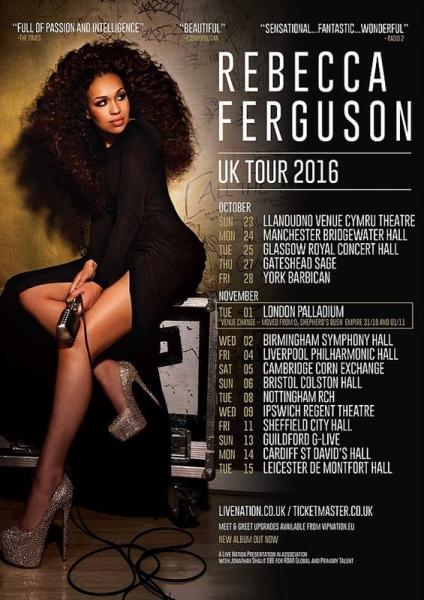 Rebecca Ferguson Superwoman Tour