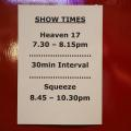 Squeeze with special guest Heaven 17