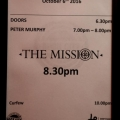 The Mission supported by Peter Murphy