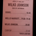 Wilko Johnson with special guest Mollie Marriott