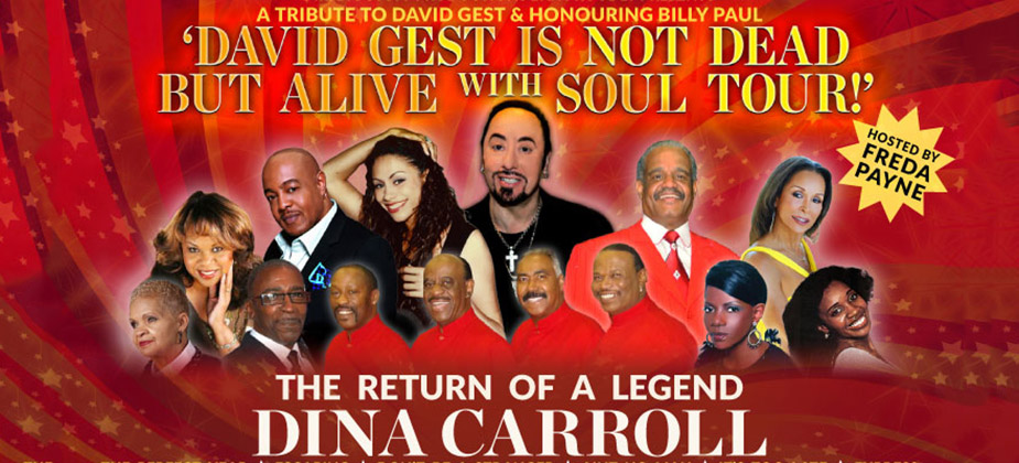 GIG REVIEW: David Gest Is Not Dead But Alive With Soul Tour
