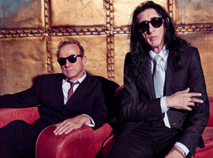 DR JOHN COOPER CLARKE AND HUGH CORNWELL TEAM UP TO TOUR THE UK AND TO RELEASE THIS TIME IT'S PERSONAL