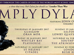 JOHN O'CONNELL ANNOUNCES A MUSICAL JOURNEY CELEBRATING BOB DYLAN'S MUSICAL CAREER