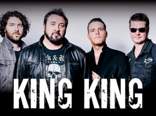 KING KING IS TO TOUR THE UK ON THEIR RE-SCHEDULED DATES