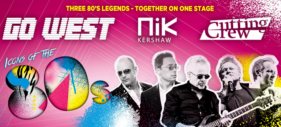 GIG REVIEW: Cutting Crew, Nik Kershaw and Go West