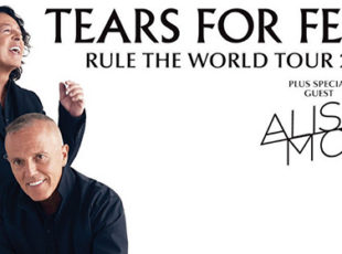 TEARS FOR FEARS ANNOUNCE THEIR RULE THE WORLD UK TOUR