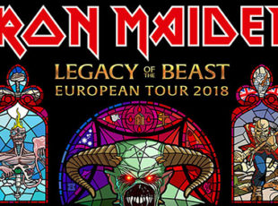 IRON MAIDEN TO TOUR THE UK IN 2018