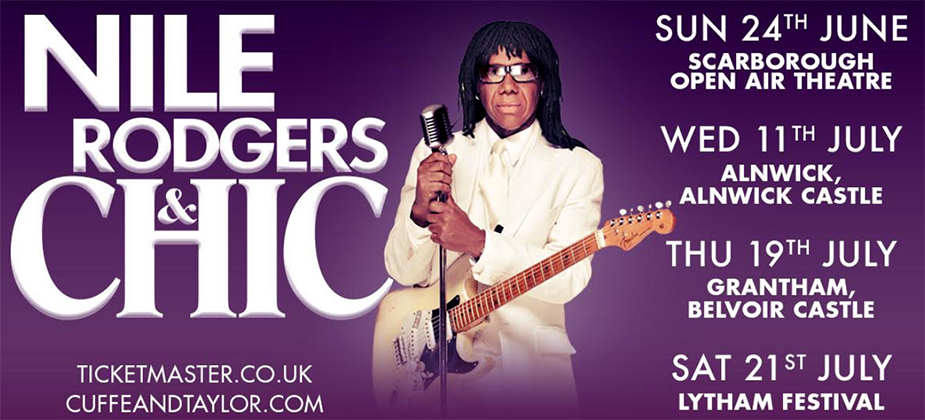 GIG REVIEW: Nile Rodgers & Chic