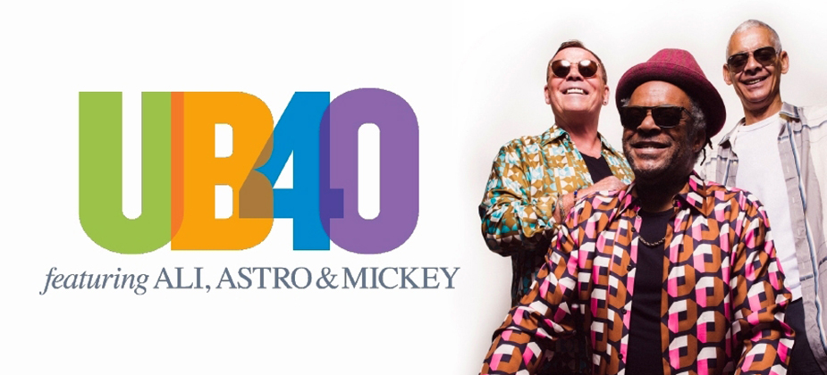 GIG REVIEW: UB40 Featuring Ali, Astro and Mickey
