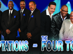 MOTOWN LEGENDS THE FOUR TOPS AND THE TEMPTATIONS TOGETHER AGAIN…ONE MORE TIME