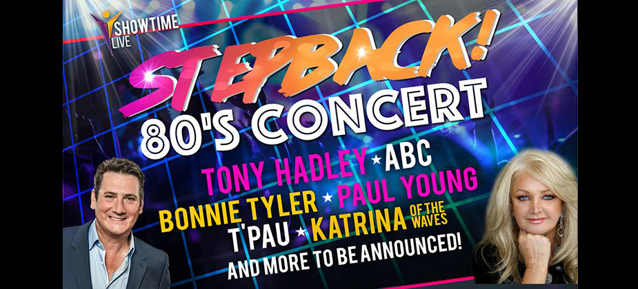 GIG REVIEW: Stepback! 80's Concert