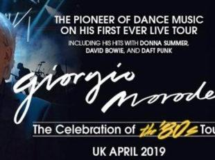 GIG REVIEW: Giorgio Moroder