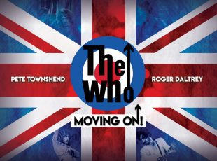THE WHO ANNOUNCE MOVING ON! SHOW AT LONDON'S WEMBLEY STADIUM