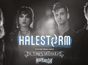 HALESTORM ANNOUNCE UK ARENA TOUR CELEBRATING WOMEN IN ROCK