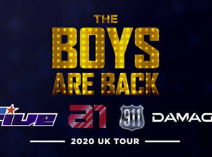 THE BOYS ARE BACK TOUR FEATURING 5IVE, A1, DAMAGE AND 911