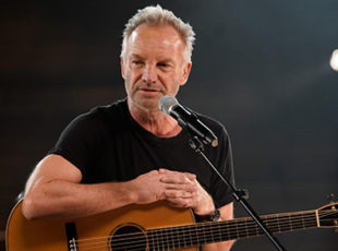 STING ANNOUNCES THE RE-SCHEDULED DATES FOR HIS CRITICALLY ACCLAIMED MY SONGS TOUR TO THE LONDON PALLADIUM IN 2022
